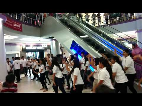 Flasg mob at forum mall kolkata(inertia - take 4)