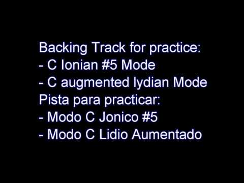 C Ionian #5 & Lydian Augmented Mode Backing Track