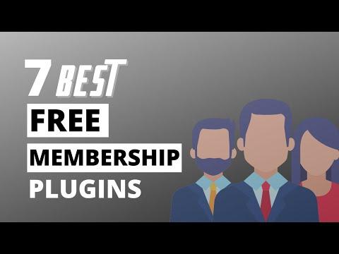7 Best Free Membership Plugins For Wordpress Websites In 2020