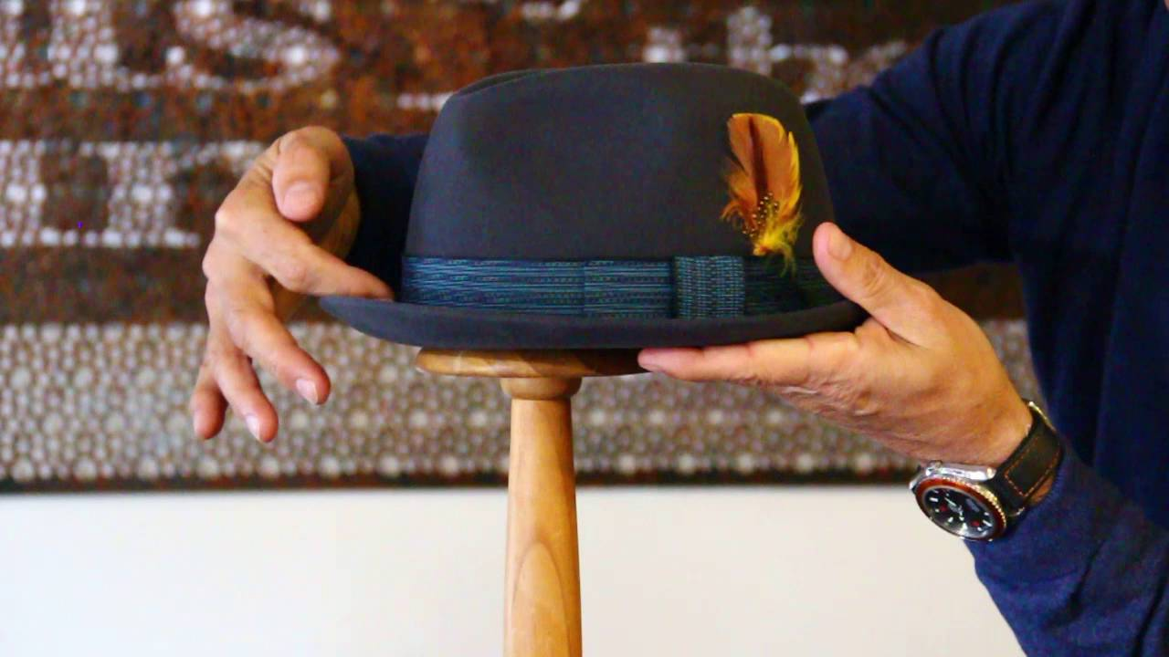 Akubra Trilby Hat Review- Hats By The Hundred - YouTube fdfdbfb76a69