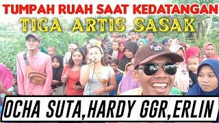 TUMPAH RUAH SAAT KEHADIRAN TIGA ARTIS SASAK PANDAWA MUSIC