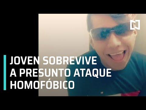 Víctima de homofobia en Tehuacán, Puebla   Balean a joven homosexual en Tehuacán - En Punto