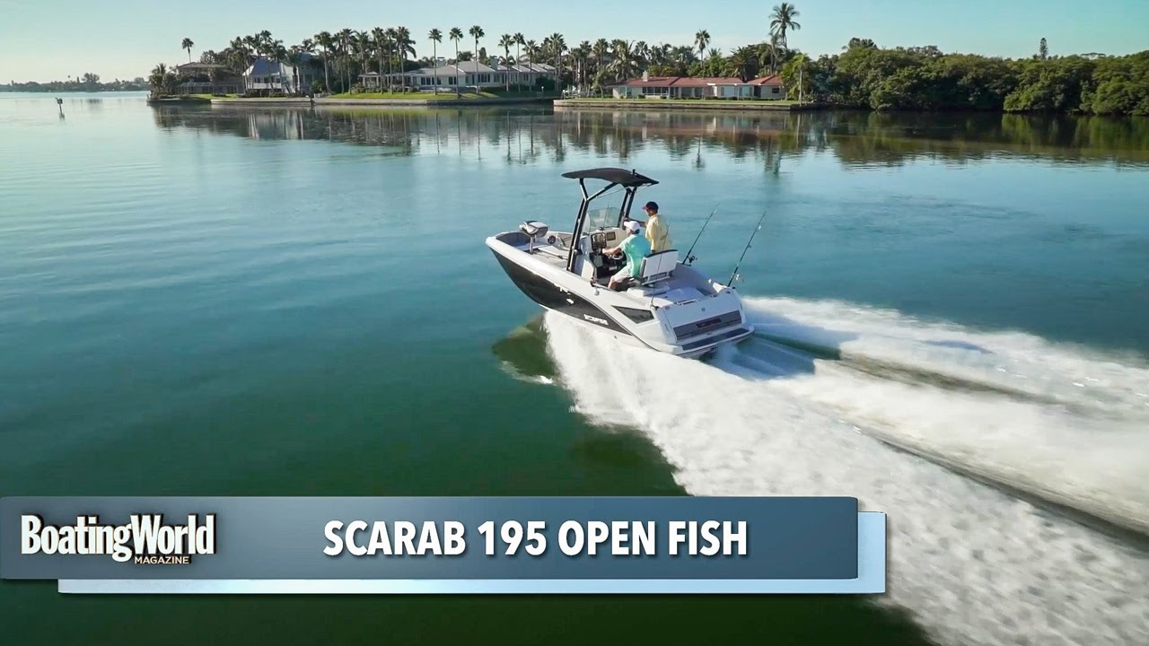 Scarab 195 open fish youtube for Scarab 195 open fish