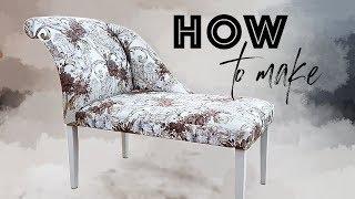Мебель своими руками / Изготовление банкетки