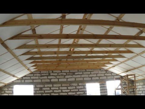 видео: Как мы  утеплили мансарду (кровля) стройка