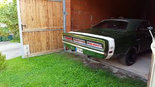 1969 Dodge Coronet R/T Start Up and Acceleration