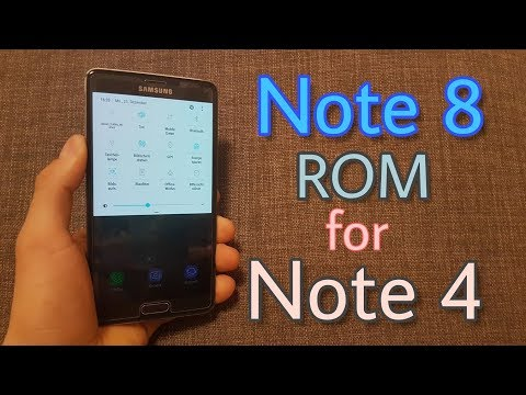 Install Galaxy Note 8 ROM on Galaxy Note 4