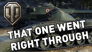 World of Tanks || That One Went Right Through!