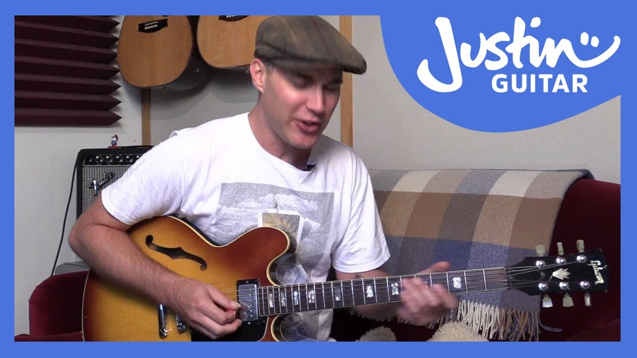 blues lick b b king style guitar lesson bl 555 youtube. Black Bedroom Furniture Sets. Home Design Ideas