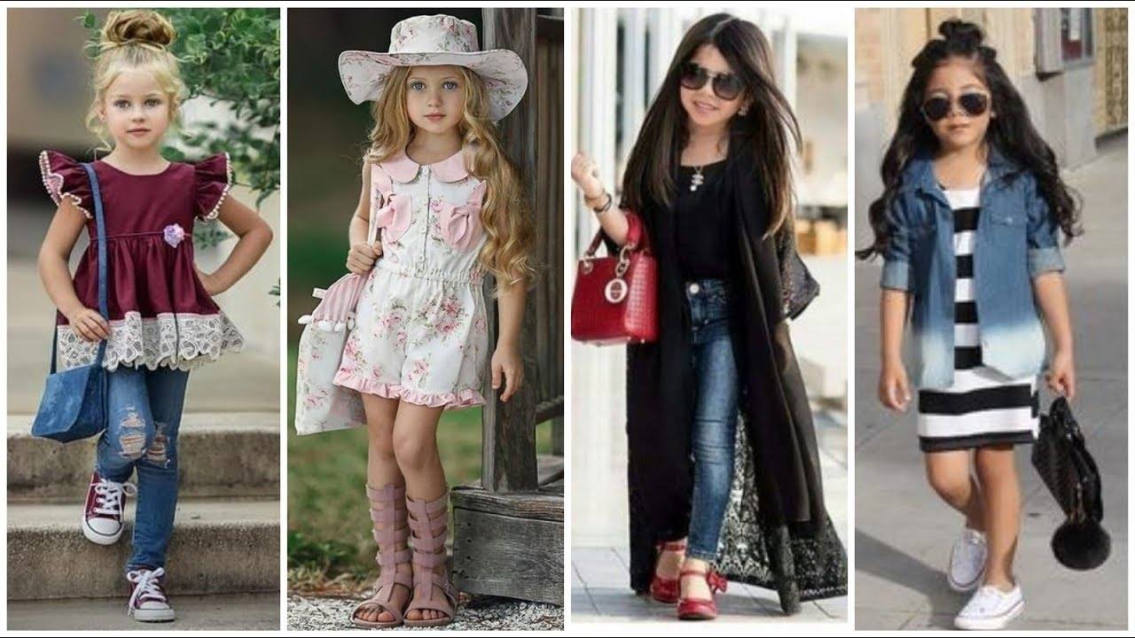Stylish abd modern outfits for baby girls. Gorgeous and glamorous dress  designs ideas for baby girls - YouTube