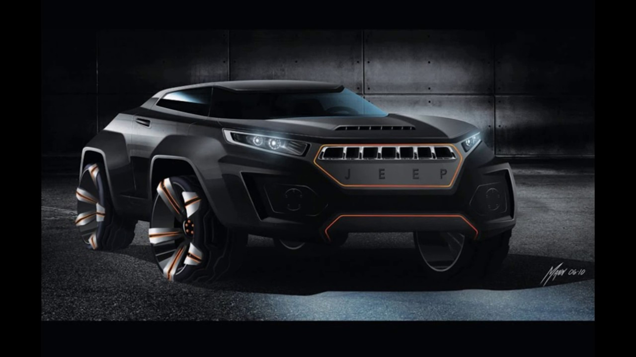 Concept 2019 : Jeep Grand Wagoneer - YouTube