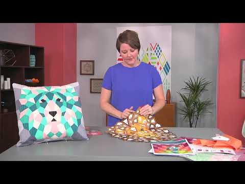 English paper piecing on Fresh Quilting with Violet Craft (208-3)