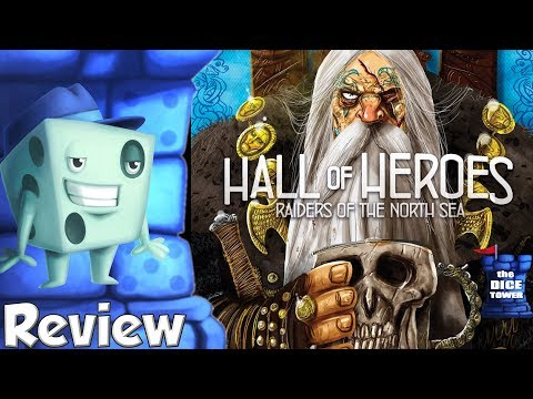 Raiders of the North Sea: Hall of Heroes Review - with Tom Vasel