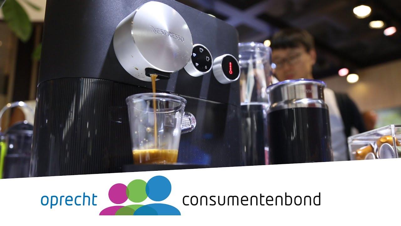 Nespresso Expert  IFA 2016 (Consumentenbond)  YouTube # Nespresso Expert