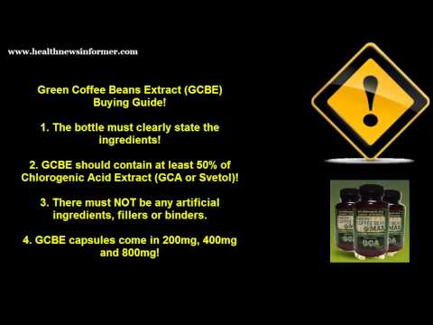2013 Where To Buy Green Coffee Bean Extract To Avoid Side Effects