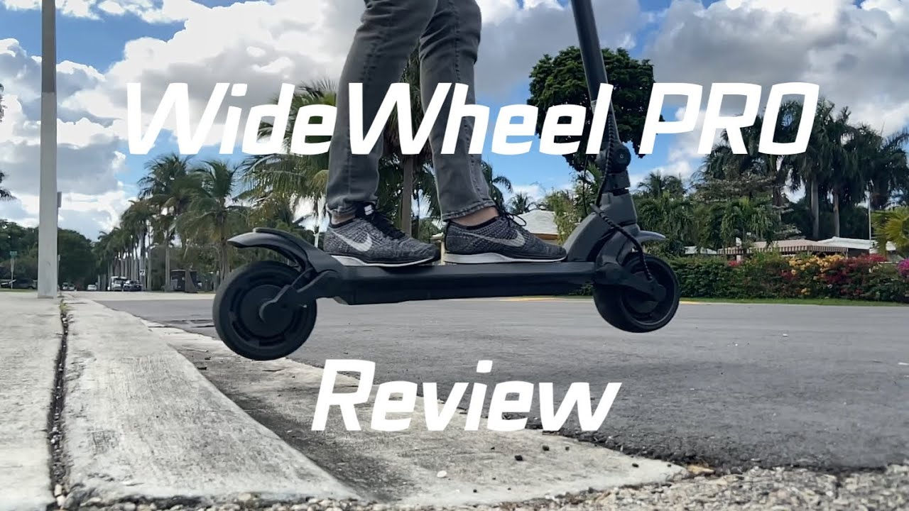 Mercane WideWheel PRO Review by fluidfreeride - Best 1000W electric scooter in 2020