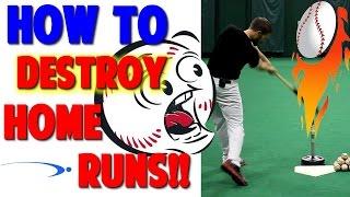 how to hit a home run   baseball hitting drills pro speed baseball