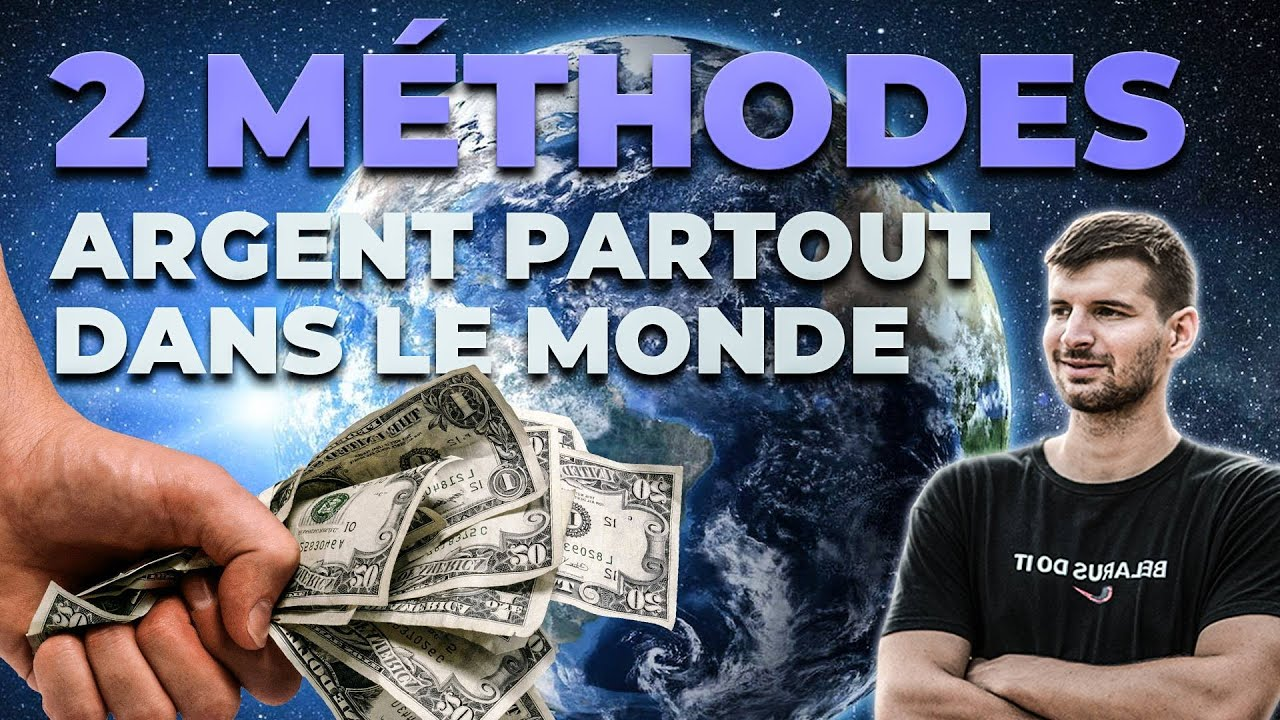 2 façons EXCLUSIVES De Gagner De L'argent PARTOUT Dans Le Monde ! (Clickbank, gagner argent Paypal)