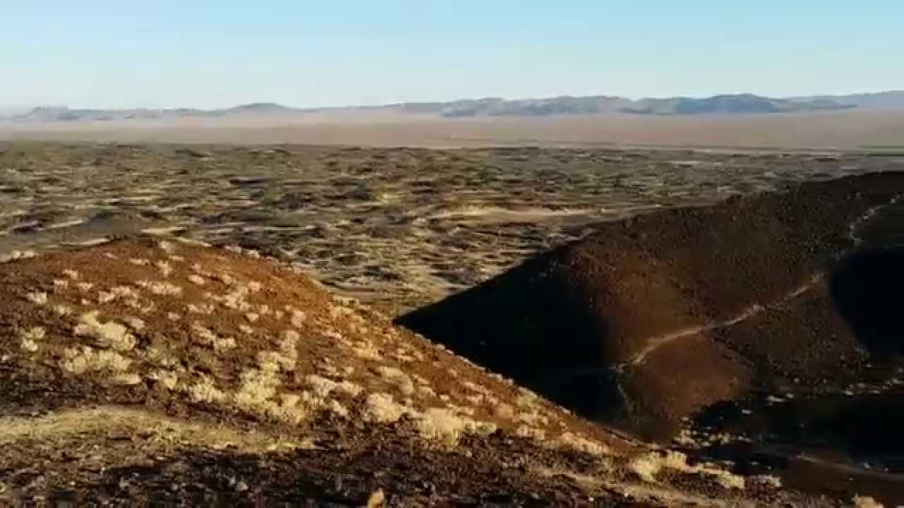 Amboy Crater National Landmark - FULL CRATER TOUR with Lava Field ...