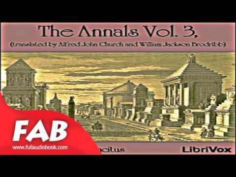 The Annals Vol 3 Full Audiobook by Publius Cornelius TACITUS by Antiquity