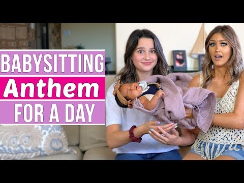Babysitting Anthem for a Day | Annie LeBlanc