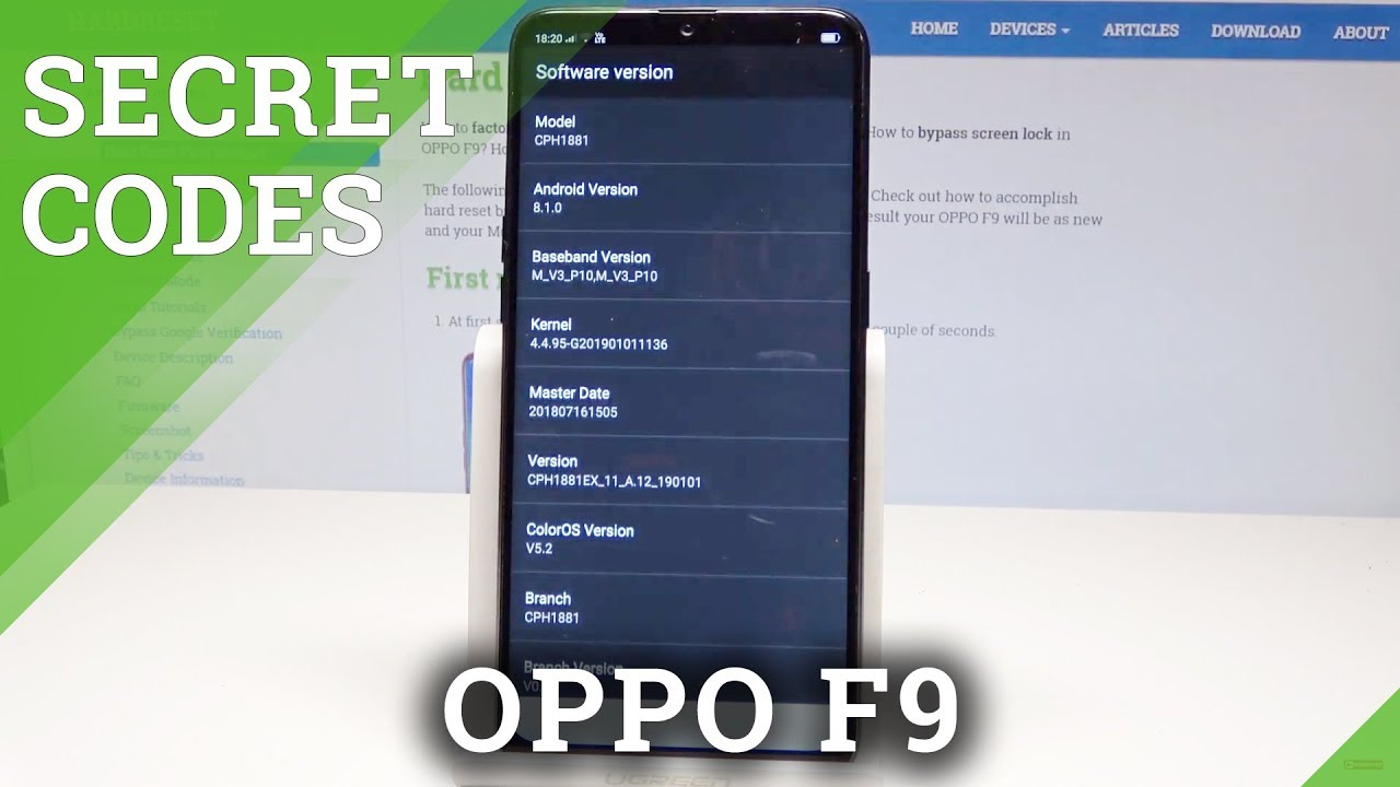 How to Enable Engineer Mode in OPPO F9 - Activate Hacking Mode