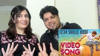 Anjaniputhraa - 1234 Shille Hodi (Video Song Reaction)|Foreigner VS Indian Reaction|
