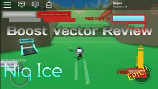 Boost Vector Review (Roblox Boost Vector)