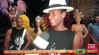 Rio Projekt - Sam Mac chats to the cast on Sunrise on 7