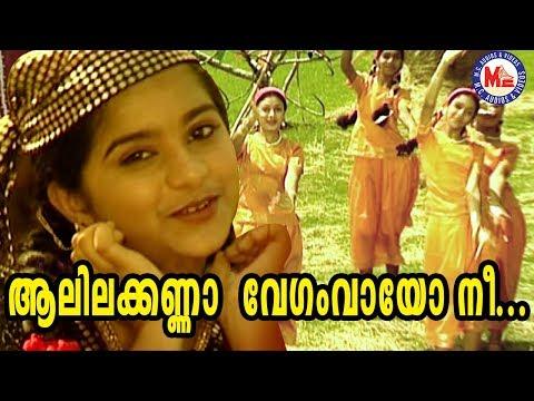 ആലിലക്കണ്ണാ | Aalila Kanna Vegam Vayo | Chirithooki Kalliyaadi Vava Kanna | Sree Krishna Songs