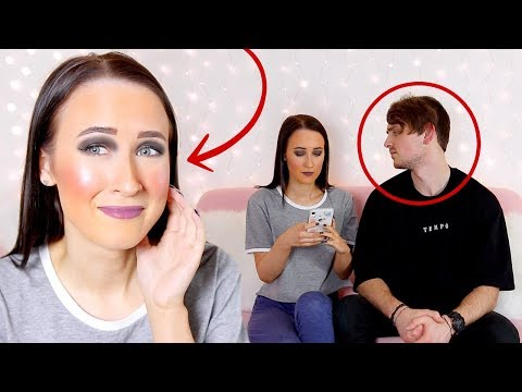 I Did My Makeup HORRIBLY To See How My Boyfriend Would React... *PRANK* thumbnail