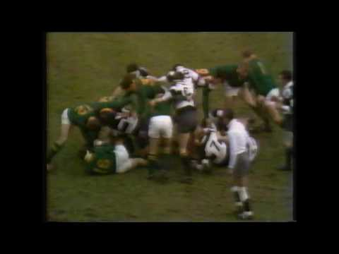 Barbarians vs South Africa  1970 Rugby Match, Twickenham Highlights