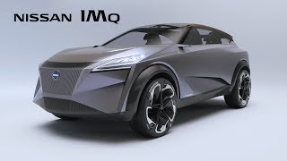 Introducing the Nissan IMQ concept, the next generation of crossovers