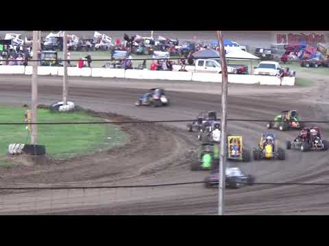 Belleville High Banks - Jayhusker 600cc Wingless Micro Sprint Heat Races