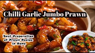 Jumbo Black Tiger Garlic Shrimp Recipe in Tamil  Tasty &amp Delicious Jumbo Black Tiger Shrimp Tamil