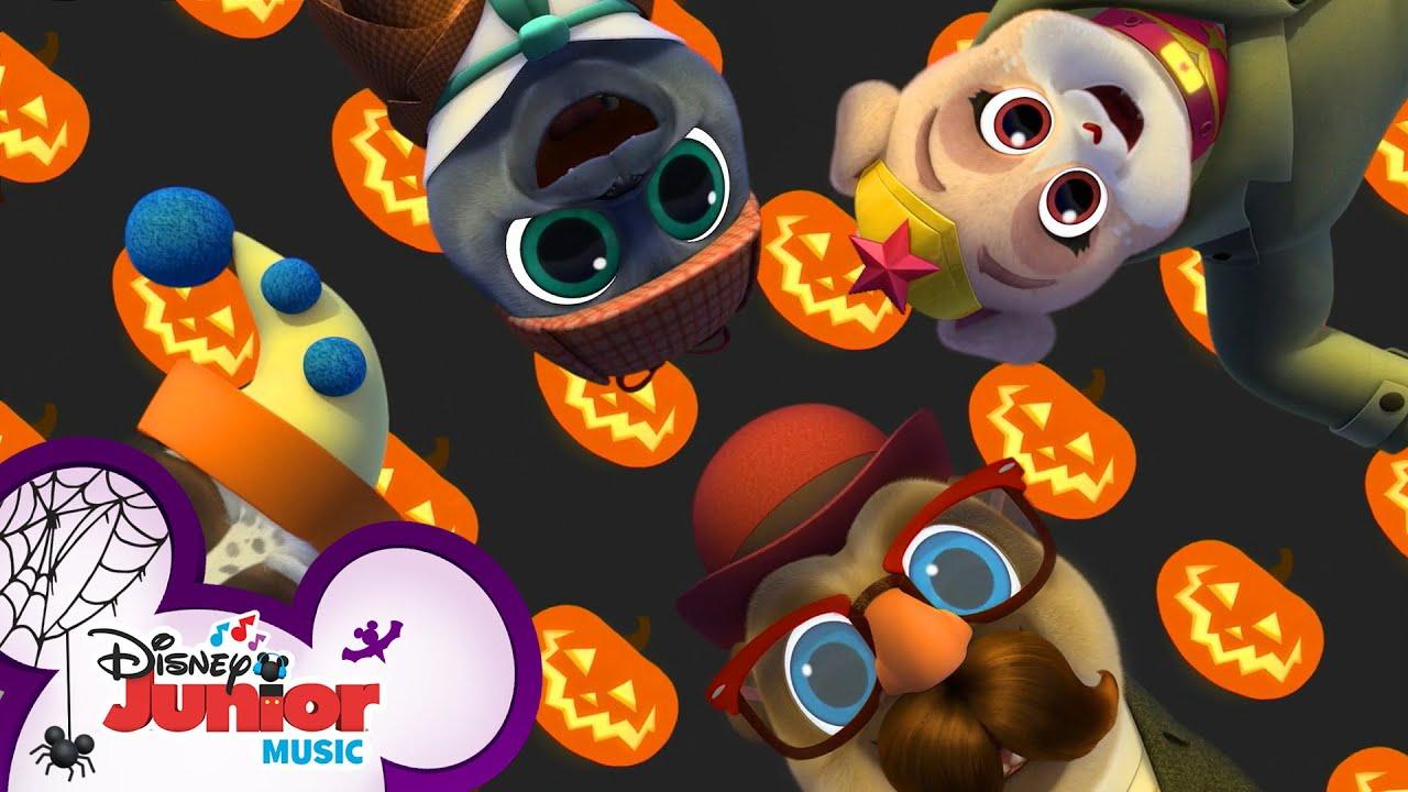 Halloween Party ☠️   Music Video   Puppy Dog Pals   Disney Junior