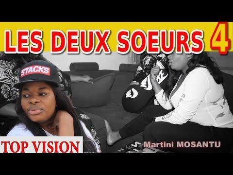 LES DEUX SOEURS Ep 4 Theatre Congolais Maman Top,Makambo,Alain,Buyibuyi,Mosantu,Clara,Facher