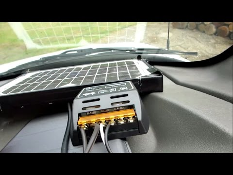 SOLAR PANEL FOR PARKED CAR Vlog 915