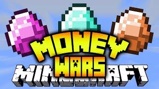 Minecraft MONEY WARS #12 'TEA PARTY SQUAD' with Vikk, Preston & Landon