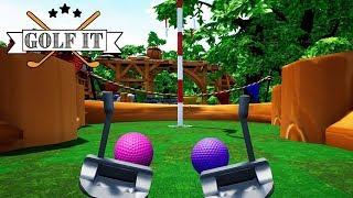 MINIATURE GOLF CHALLENGE! ⛳️ / Golf It! / Episode #1