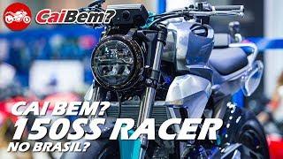 CAI BEM  HONDA 150SS RACER CAIRIA BEM NO BRASIL 2