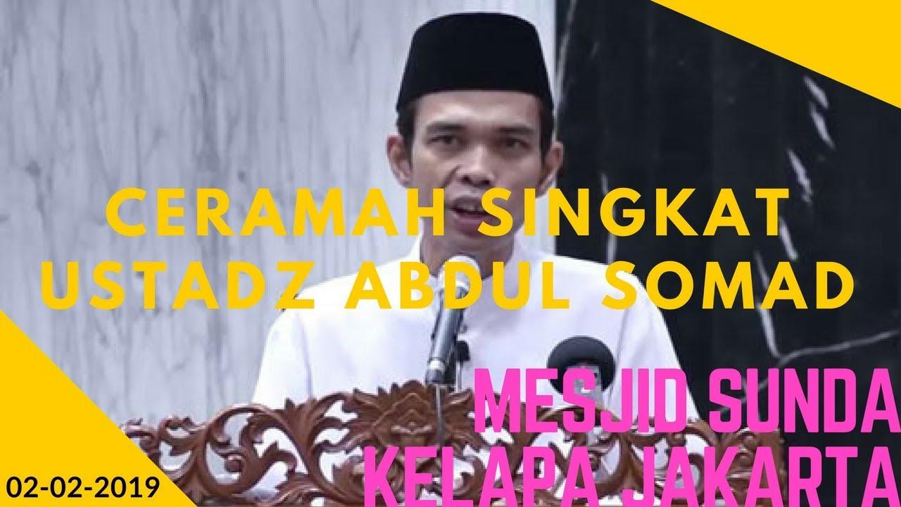 Ceramah Singkat Ustadz Abduk Somad di Mesjid Sunda Kelapa ...