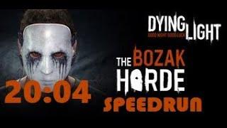 Dying Light: Bozak Horde - Solo Speedrun World Record (20:04)