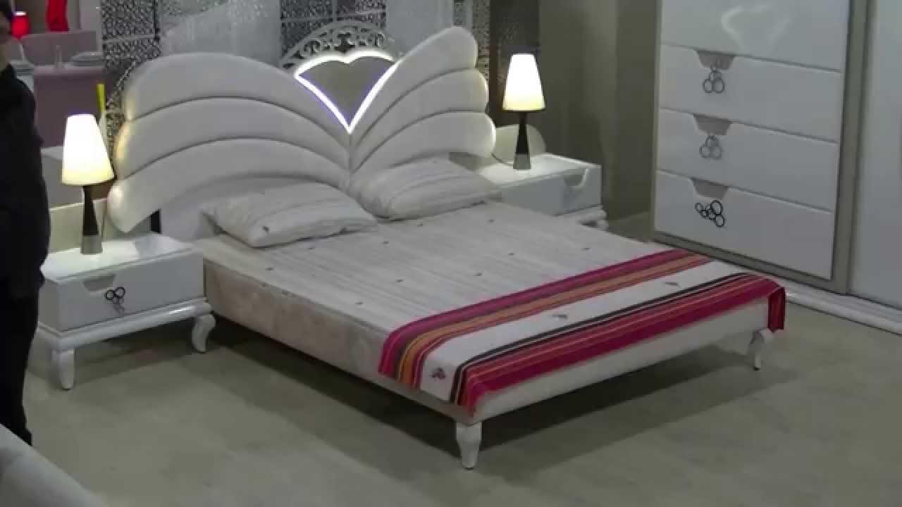 Pek avangarde yatak odas tak m berke mobilya youtube for Mobilya yatak odasi