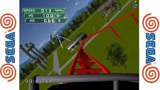 Coaster Works - SEGA Dreamcast Gameplay Sample - Redread Emulator