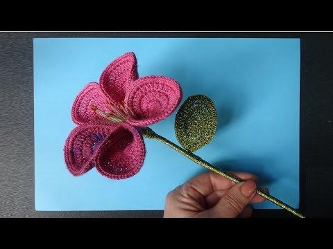 Вяжем розы крючком/ Knit rose crochet