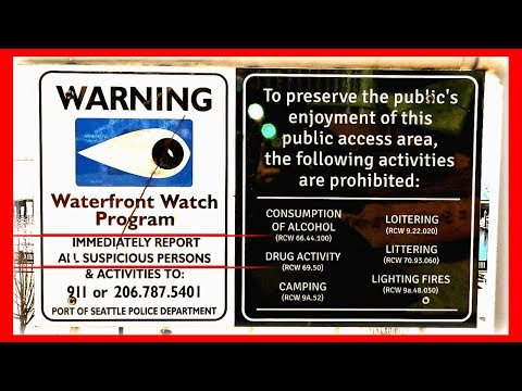 Filming @ Port of Seattle on Pier 66 + World Trade Center / Tour & 1st Amendment Audit