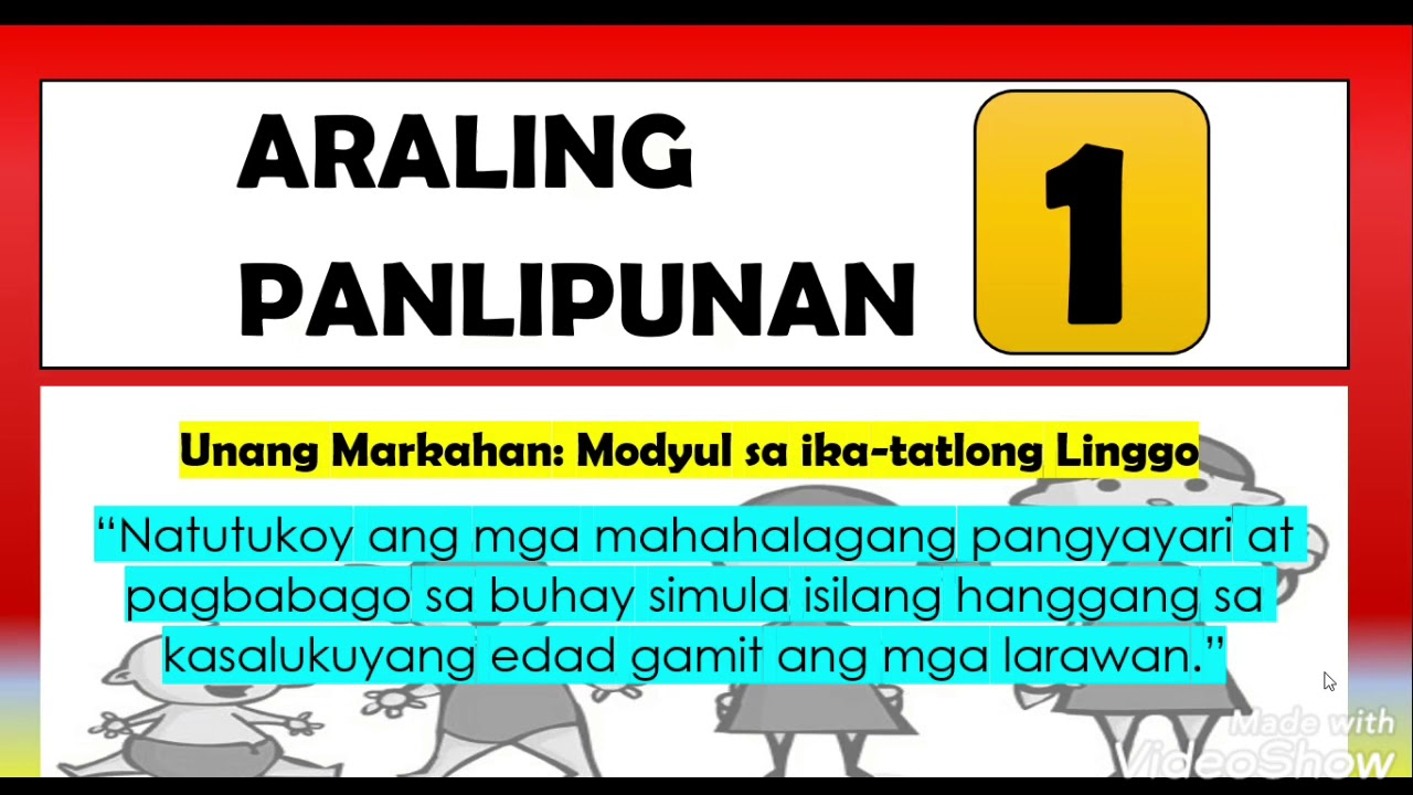 small resolution of ARALING PANLIPUNAN 1 (FIRST QUARTER WEEK 3 SAMPLE MODULE) - YouTube
