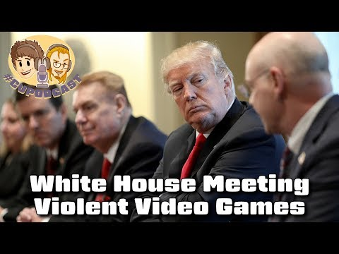 White House Meeting on Violent Video Games - #CUPodcast