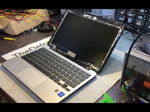 #189 HP Chromebook 11 G4 Screen Repair and Screen Teardown B116TXN01.0